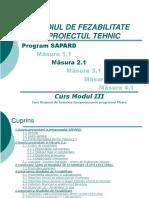 Studiul de Fezabilitate Si Proiectul Tehnic 2