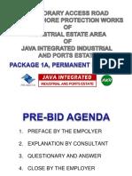 UPDATE PRE-BID ACCESS ROAD 1A permanent BRIDGE add info.ppt