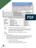 Bizmanualz Construction Management Policies and Procedures Sample