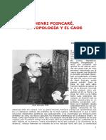 La Topologia y El Caos - HENRI POINCARÉ