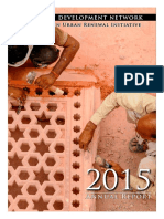 2015 Annual Report - Nizamuddin Urban Renewal Initiative