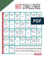 30-Day HIIT Challenge