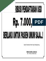 Warning Tarif Igd
