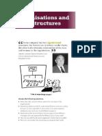 Organisational Structure Listening Teacher's