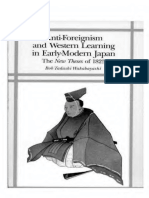 Anti-Foreignism and Western Learning in Early Modern Japan_text