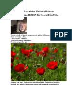 Minunile d Nei Cercetator Marioara Godeanu(CM 03.12)a de Exceptie