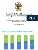 Graph Presentation by Hon Calle Schlettwein on 10th May