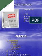 27 Quality Manual