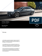 Mercedes BenzE ClassSaloonRetailPriceListApril1st July31st2017