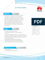 Datasheet 2.0m Hybrid Outdoor Power System