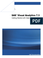 SAS VA 7.3 Getting Started With Data Preparation