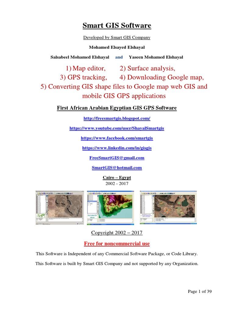 Elshayal Smart GIS Course | Geographic Information System