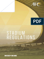 Afc Stadium Regulations 2017