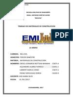 LA-ARENA (1) Materiales de Construccion