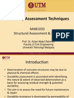 Durability Assessment of Concrete Structures
