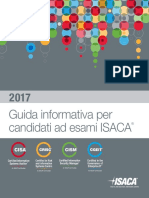 2017 ISACA Exam Candidate Information Guide Exp Ita 1216