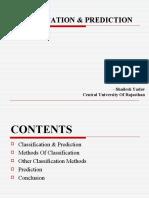 Classification & Prediction