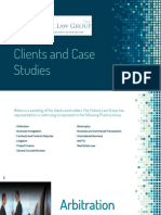 Clients and Case Studies - TVLG