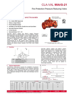 Pressure Reducing Valve Catalogue