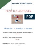 Alcoholes - Química orgánica