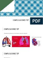 Complicaciones Tep