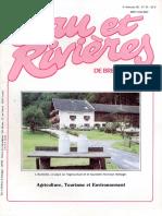 054 Eau & Rivières 54 - 4e Trim 1985 - Agriculture Toursime Et Environnement