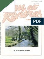 056 Eau & Rivières 56 - 2e Trim 1986 - Nettoyage de Nos Rivières