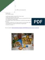 010 Mancare de Cartofi de Post
