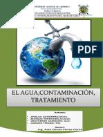 El Agua Contaminación Tratamiento