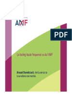 Amf Trading Haute Fréquence