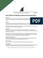 TSR71 Geon Rigid Vinyl Molding Compounds Processing Guide