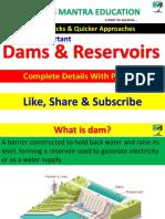 All Dams _ Reserviors in Inda