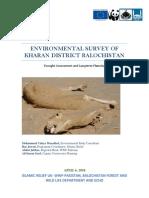 Environmental Survey of Kharan District Balochistan
