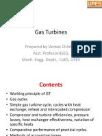 2.1. Gas Turbines