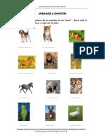 Animales y Caracternivel a1