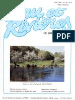 069 Eau & Rivières 69 - Juin 1989 - Pollution Par Les Nitrates