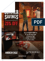 American Eagle Handgun Ammo Rebate