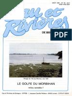 078 Eau & Rivières 78 - Août 1991 - Golfe Du Morbihan