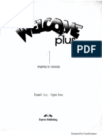 WELCOME PLUS PUPIL'S BOOK 1