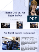 Phone Cell vs Air Flight Safety