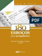180 Esboços Para Pregadores