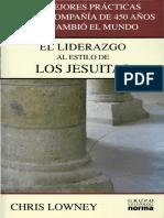 Chris Lowney-Liderazgo Al Estilo Jesuita