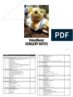 Andre Surgery Notes (Ed 4, 030614)