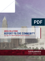 Media impact from 2016 Cleveland Republican National Convention