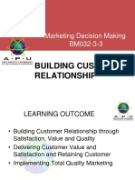 Chapter 1 - Building Customer Relationship