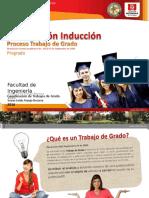 Presentación Inducción Proceso Trabajo de Grado Facultad de Ingeniería Final 2016