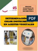 Determinación Del Color Instrumental en Aceites Vegetales (1)