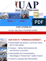 Derecho Aduanero Peruano