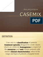 Overview of Casemix