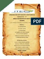 Grupo 2. UNIDAD 1.2 Marketing en Empresas de Servicio